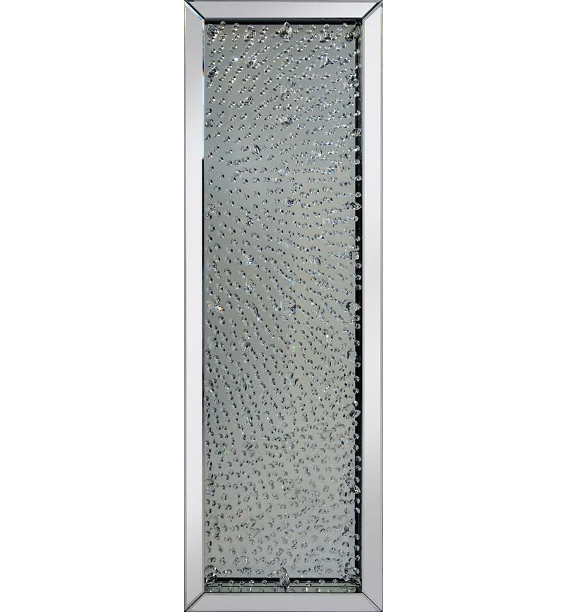 Floating Crystals Mirror 160cm x 50cm