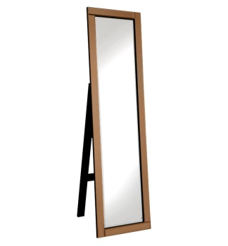 Jenna Bronze bevelled Cheval Mirror 150cm x 40cm