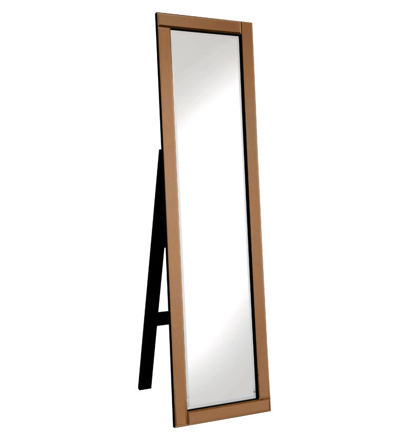 Jenna Bronze bevelled Cheval Mirror 150cm x 40cm