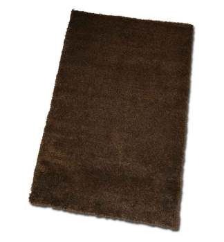 Miami Soft Rug in Chocolate Brown