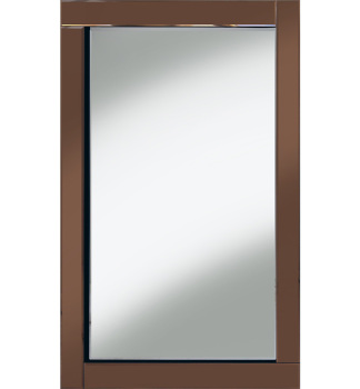 Frameless Bevelled Flat Bar Bronze / Copper Mirror 120cm x 80cm