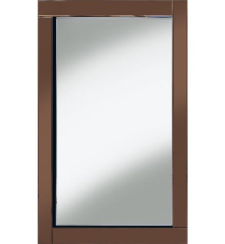 Frameless Bevelled Bronze / Copper Mirror 120cm x 80cm