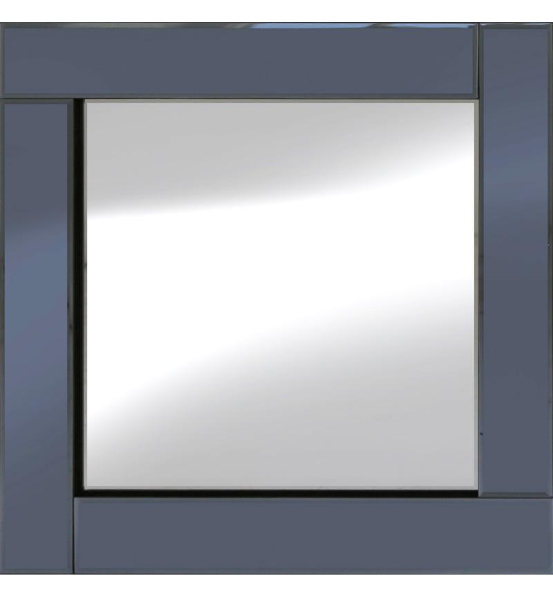 Frameless Bevelled Flat Bar Smoked Grey Mirror 60cm x 60cm