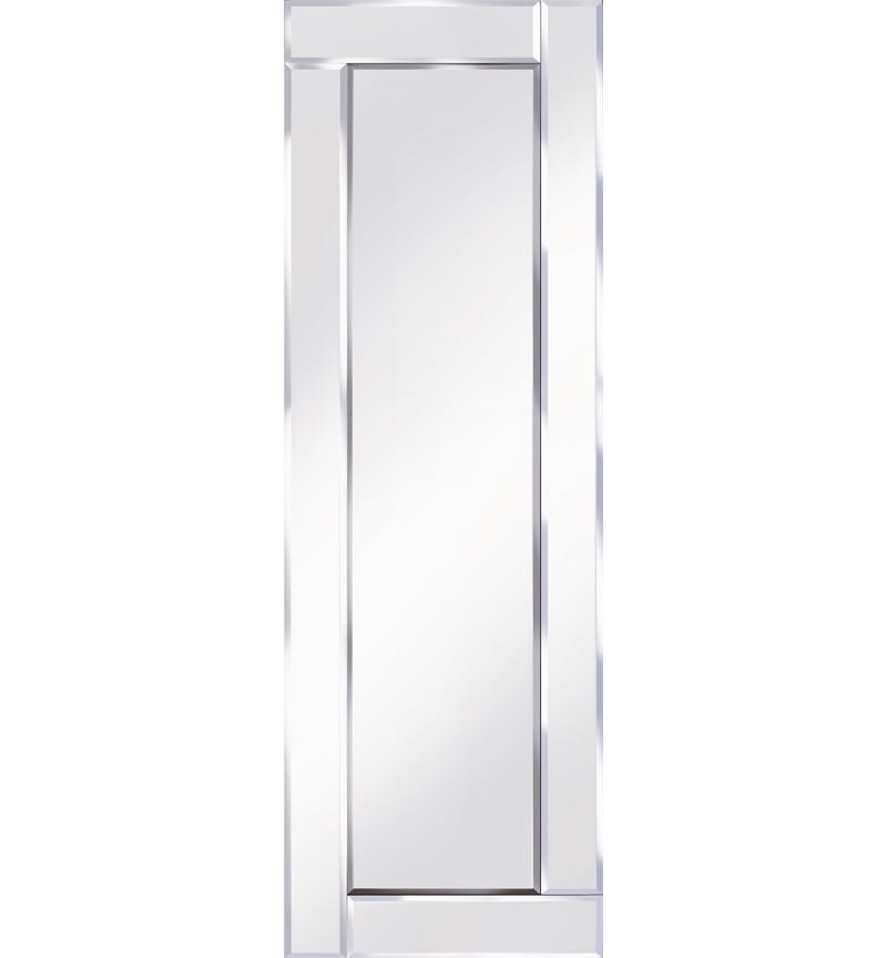 Frameless Bevelled Flat Bar Silver Mirror 120cm x 40cm