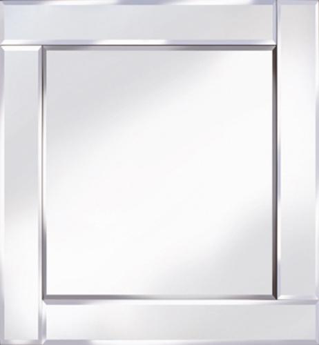Frameless Bevelled Flat Bar Silver Mirror 60cm x 60cm