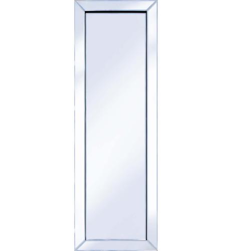 Frameless Bevelled Mitred Corner Silver Mirror 120cm x 40cm