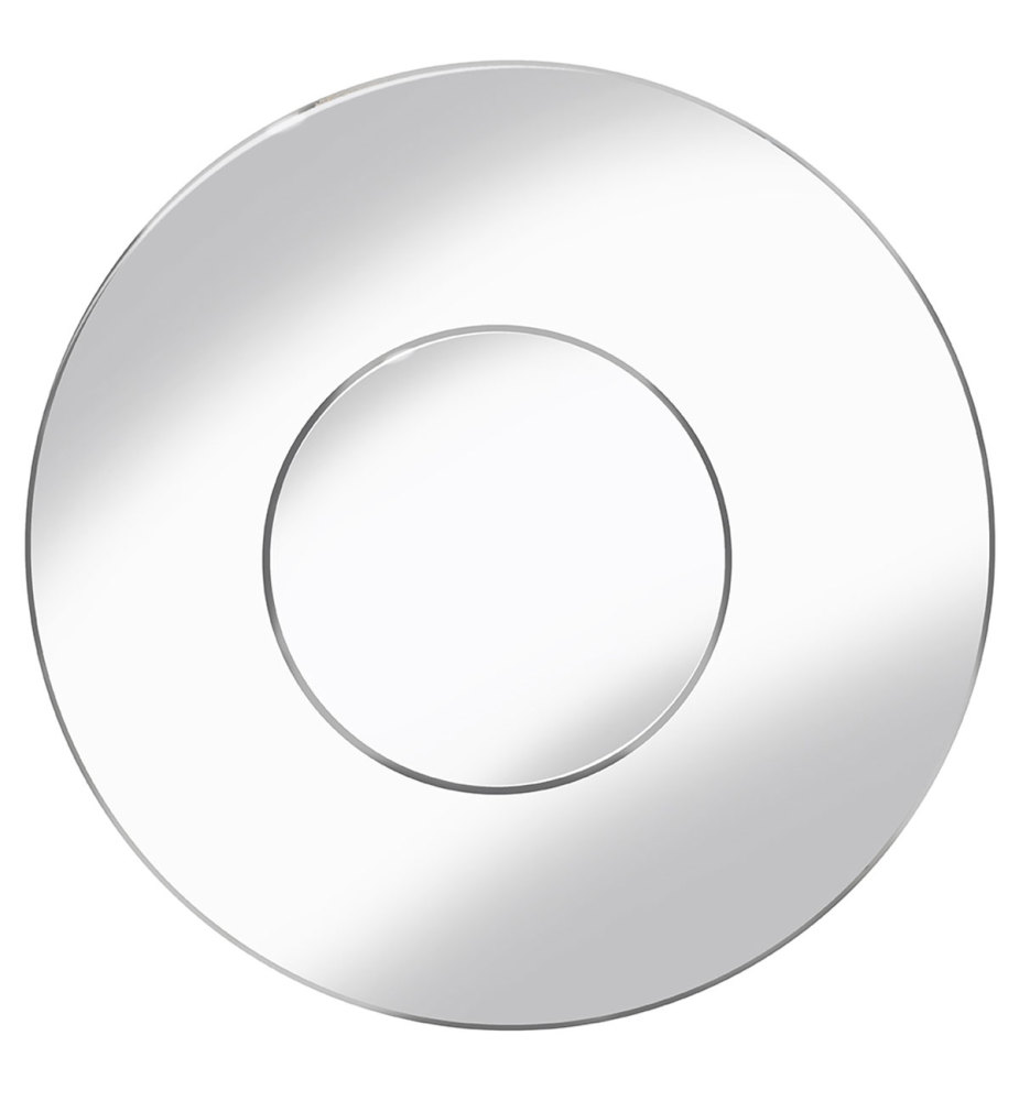 large Circular Bevelled Round Mirror 100cm Dia