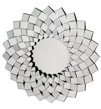 Starburst Faceted Bevelled Mirror 92cm dia