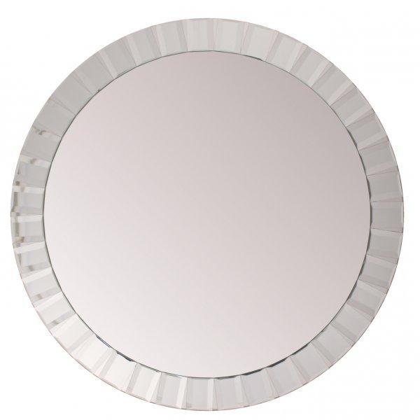 Kensington Large Oval bevelled Wall Mirror 120cm dia