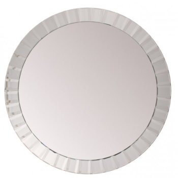 Kensington Large Oval bevelled Wall Mirror 110cm dia