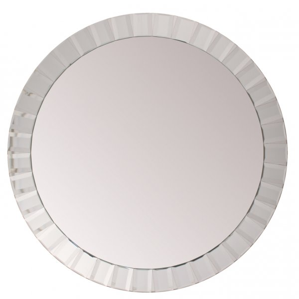 Kensington Large Oval bevelled Wall Mirror 119cm dia