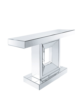 Quinesta Mirrored Console Table