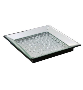 Floating Crystals Decorative Tray 34cm x 34cm
