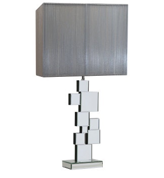 Squares Mirrored Lamp