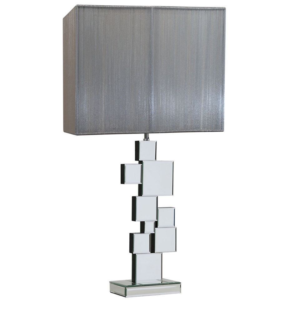 Blocks Mirrored Lamp  x  x cm