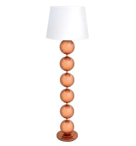 Baubbles Floor Lamp in Copper