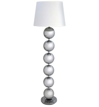 Bilbois Floor Lamp in Silver