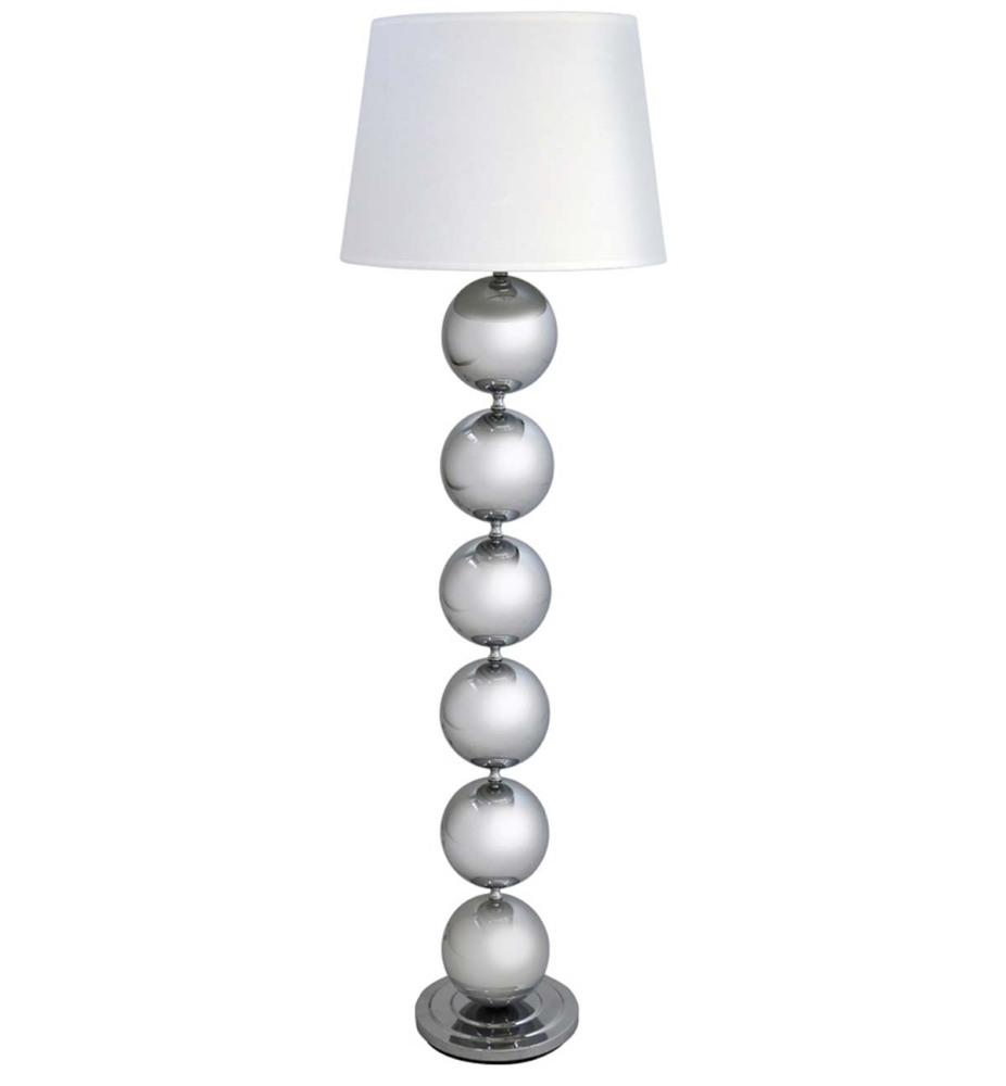 Baubbles Floor Lamp in Silver