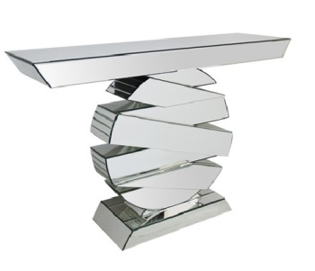 Madison Mirrored Console Table 115cm x 81cm