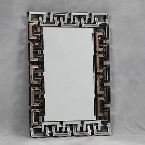 Chain Link Venetian Bevelled Rectangular Mirror