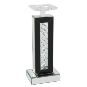 Floating Crystals Candle Stick 34cm x 10cm x 14cm
