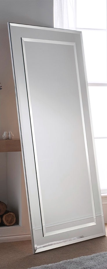 UK hand made - Silver Bevelled MIrror 68