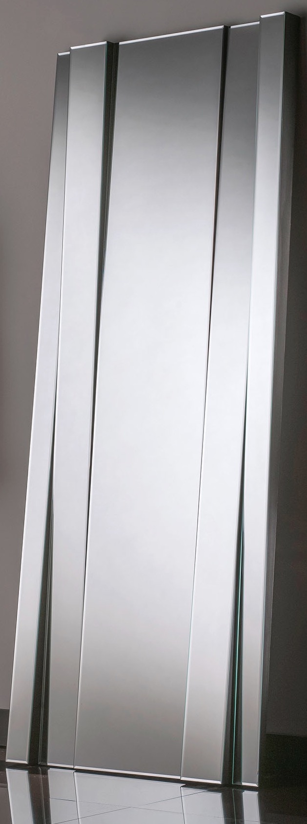 UK hand made - Silver Modern Bevelled MIrror 72