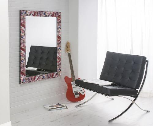 Graffiti  Framed Mirror 42