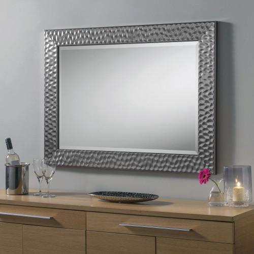 Grey Metalic Framed decorative Mirror 67