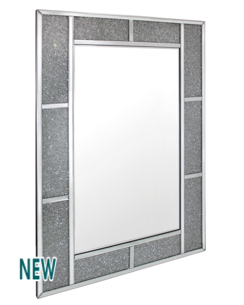 Milano Mosaic Crush Rectangular Mirror