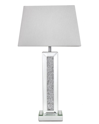 Milano Mosaic Crush Mirrored Lamp