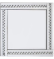 *Special Offer Glitz Floating Crystals Silver Wall Mirror 60cm x 60cm - 4 sizes available