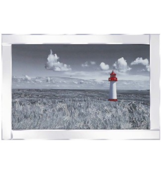 "Mirror framed art print ""Peace and Quiet"""