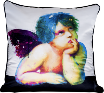 "Patrice Murciano 55cm Luxury Feather Filled Cushion -  ""Angels Wings"""