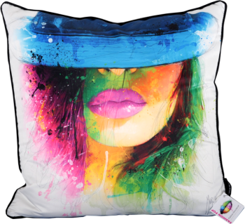 "Patrice Murciano 55cm Luxury Feather Filled Cushion - ""Pose"""