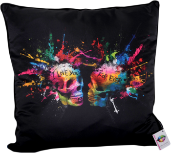 "Patrice Murciano 55cm Luxury Feather Filled Cushion - ""Splash"""