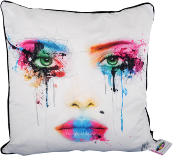 "Patrice Murciano 55cm Luxury Feather Filled Cushion - ""Tears""'"