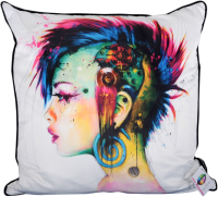 "Patrice Murciano 55cm Luxury Feather Filled Cushion - ""Punk"""