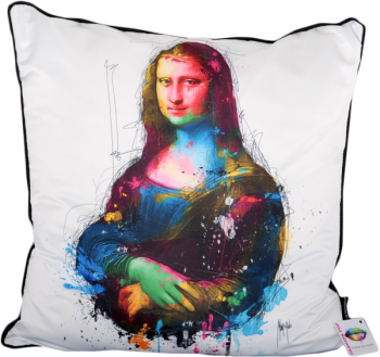 "Patrice Murciano 55cm Luxury Feather Filled Cushion - ""Mona Lisa"""