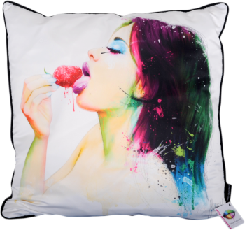 "Patrice Murciano 55cm Luxury Feather Filled Cushion - ""Dina"""