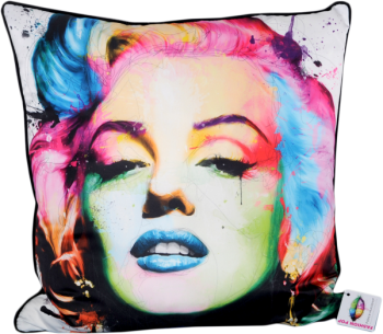 Patrice Murciano 55cm Luxury Feather Filled Cushion in white - Monroe