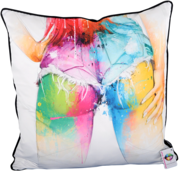 "Patrice Murciano 55cm Luxury Feather Filled Cushion ""Rozanne"""