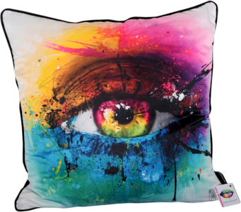 Patrice Murciano 55cm Luxury Feather Filled Cushion - 'Eye Cluster'