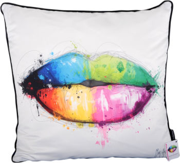 "Patrice Murciano 55cm Luxury Feather Filled Cushion - ""Kiss"""