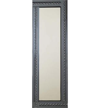 *Special Offer Glitz Floating Crystals Smoked Grey Wall Mirror 120cm x 40cm  - 4 sizes available