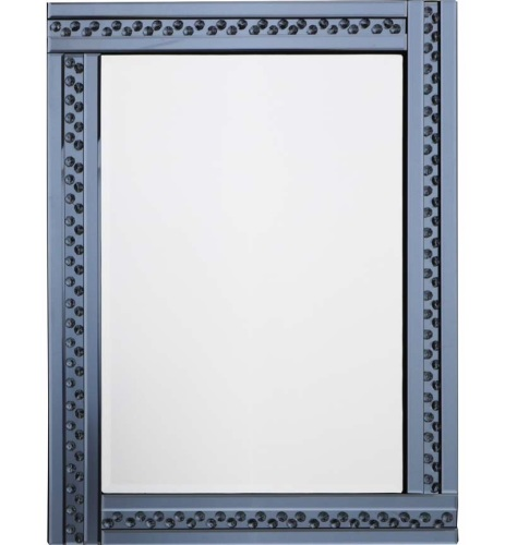 *Special Offer * Glitz Floating Crystals smoked Grey Wall  Wall Mirror 120c