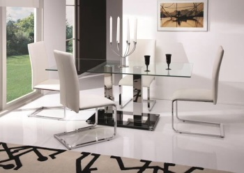 Glaze Dining Table + 6 Chairs