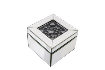 Black Jewel Floating Crystal Jewel Box