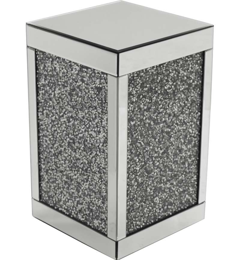 Crush Sparkle Crystal Mirrored Lamp Table