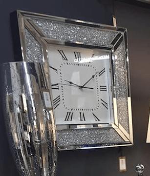 wall clocks mantle clocks glitter clocks sparkle clocks crush
